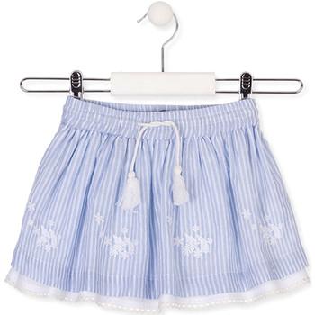 tekstylia Dziewczynka Spódnice Losan 016-7060AL Niebieski