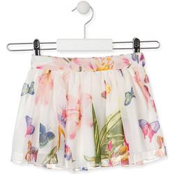 tekstylia Dziewczynka Spódnice Losan 016-7781AL Biały