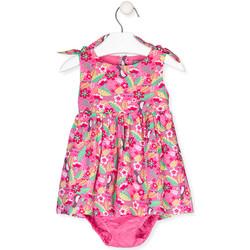 tekstylia Dziewczynka Sukienki Losan 018-7006AL Różowy