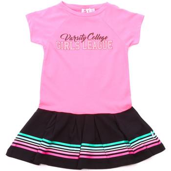 tekstylia Dziewczynka Sukienki krótkie Melby 70A5705 Różowy