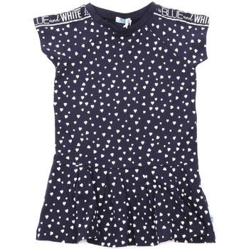 tekstylia Dziewczynka Sukienki krótkie Melby 70A5705 Niebieski