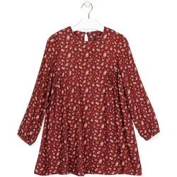 tekstylia Dziewczynka Sukienki krótkie Losan 024-7016AL Czerwony