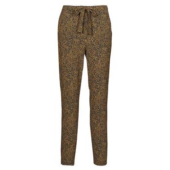 tekstylia Damskie Spodnie z lejącej tkaniny / Alladynki Ikks BS22085-75 Brązowy