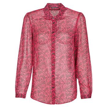tekstylia Damskie Koszule Ikks BS12155-38 Raspberry