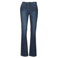 tekstylia Damskie Jeansy bootcut Ikks BS29135-45 Night / Blue