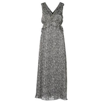 tekstylia Damskie Sukienki długie Ikks BS30265-02 Czarny