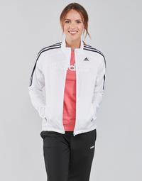 tekstylia Damskie Bluzy dresowe adidas Performance MARATHON JKT W Biały