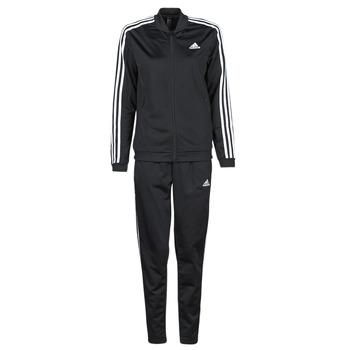 tekstylia Damskie Zestawy dresowe adidas Performance W 3S TR TS Czarny