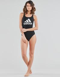 tekstylia Damskie Kostium kąpielowy jednoczęściowy adidas Performance SH3.RO BOS S Czarny
