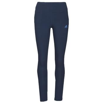 tekstylia Damskie Legginsy adidas Performance W LIN LEG Niebieski
