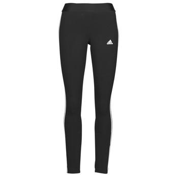 tekstylia Damskie Legginsy adidas Performance W 3S LEG Czarny