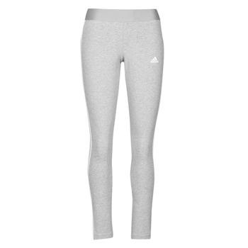 tekstylia Damskie Legginsy adidas Performance W 3S LEG Szary