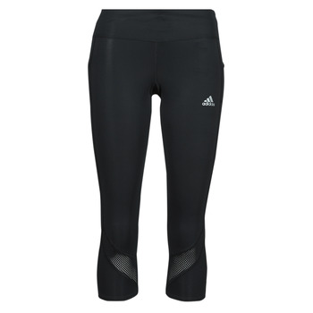 tekstylia Damskie Legginsy adidas Performance OWN THE RUN TGT Czarny