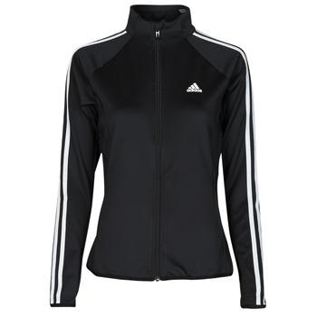 tekstylia Damskie Bluzy dresowe adidas Performance W 3S TJ Czarny