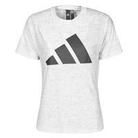 tekstylia Damskie T-shirty z krótkim rękawem adidas Performance W WIN 2.0 TEE Biały