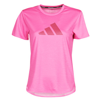 tekstylia Damskie T-shirty z krótkim rękawem adidas Performance BOS LOGO TEE Różowy