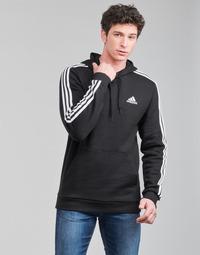 tekstylia Męskie Bluzy adidas Performance M 3S FL HD Czarny