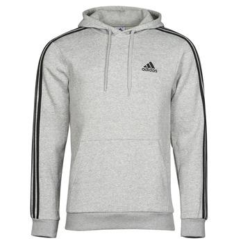 tekstylia Męskie Bluzy adidas Performance M 3S FL HD Szary
