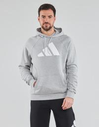 tekstylia Męskie Bluzy adidas Performance M FI Hood Szary