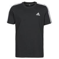 tekstylia Męskie T-shirty z krótkim rękawem adidas Performance M 3S SJ T Czarny