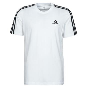 tekstylia Męskie T-shirty z krótkim rękawem adidas Performance M 3S SJ T Biały