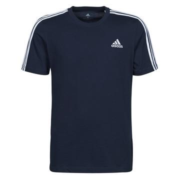 tekstylia Męskie T-shirty z krótkim rękawem adidas Performance M 3S SJ T Niebieski