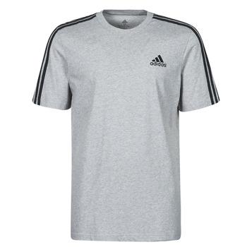 tekstylia Męskie T-shirty z krótkim rękawem adidas Performance M 3S SJ T Szary