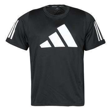 tekstylia Męskie T-shirty z krótkim rękawem adidas Performance FL 3 BAR TEE Czarny