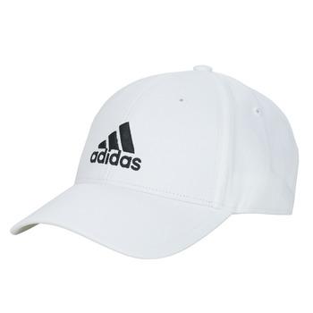 Dodatki Czapki z daszkiem adidas Performance BBALL CAP COT Biały