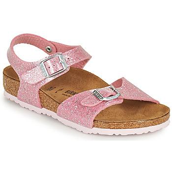 Buty Dziewczynka Sandały Birkenstock RIO PLAIN Różowy