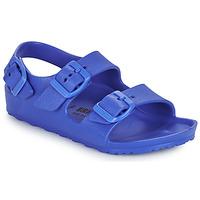 Buty Chłopiec Sandały Birkenstock MILANO EVA Niebieski