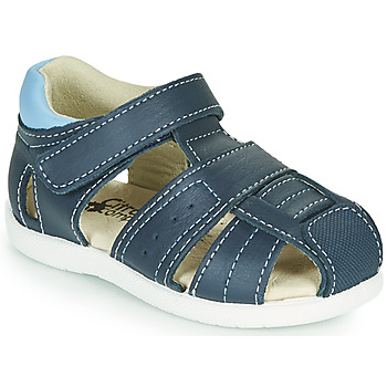 Buty Chłopiec Sandały Citrouille et Compagnie OLISS Niebieski