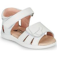 Buty Dziewczynka Sandały Citrouille et Compagnie OLESS Biały