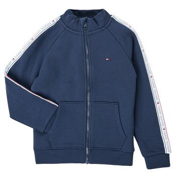 tekstylia Chłopiec Bluzy Tommy Hilfiger  Marine