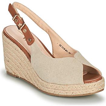 Buty Damskie Sandały Vanessa Wu SD2238BG Beżowy / Brązowy