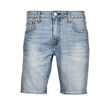 tekstylia Męskie Szorty i Bermudy Levi's 411 Slim Short Niebieski