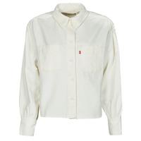 tekstylia Damskie Koszule Levi's ZOEY PLEAT UTILITY SHIRT Biały