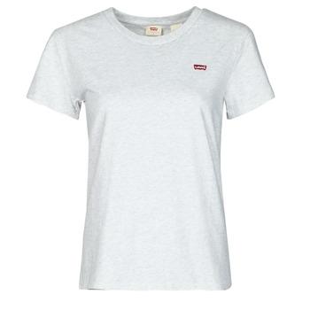 tekstylia Damskie T-shirty z krótkim rękawem Levi's PERFECT TEE Szary