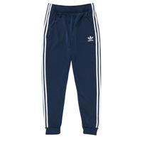 tekstylia Dziecko Spodnie dresowe adidas Originals GN8454 Niebieski