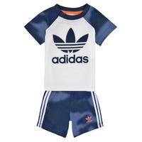 tekstylia Chłopiec Komplet adidas Originals GN4110 Biały