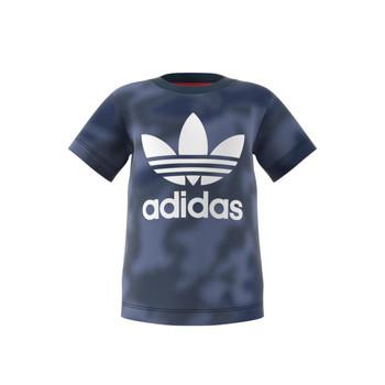 tekstylia Chłopiec T-shirty z krótkim rękawem adidas Originals GN4116 Niebieski