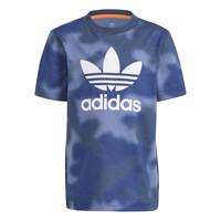 tekstylia Chłopiec T-shirty z krótkim rękawem adidas Originals GN4119 Niebieski