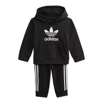 tekstylia Dziecko Bluzy adidas Originals DV2809 Czarny