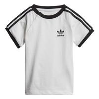 tekstylia Dziecko T-shirty z krótkim rękawem adidas Originals DV2824 Biały