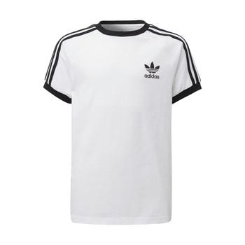 tekstylia Dziecko T-shirty z krótkim rękawem adidas Originals DV2901 Biały