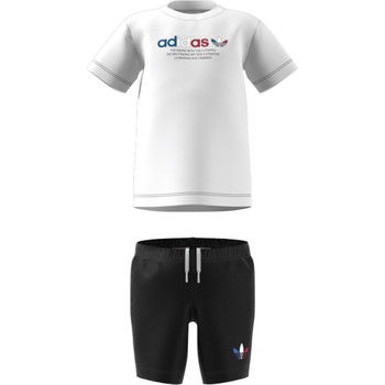 tekstylia Dziecko Komplet adidas Originals GN7413 Biały