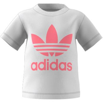 tekstylia Dziecko T-shirty z krótkim rękawem adidas Originals GN8175 Biały