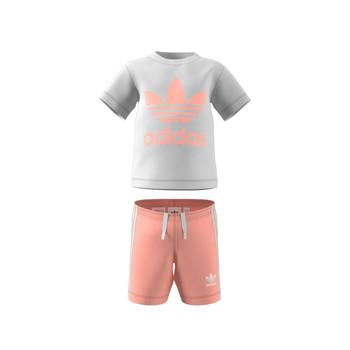 tekstylia Dziecko Komplet adidas Originals GN8192 Biały
