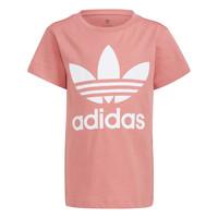 tekstylia Dziecko T-shirty z krótkim rękawem adidas Originals GN8205 Biały