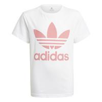 tekstylia Dziecko T-shirty z krótkim rękawem adidas Originals GN8213 Biały
